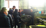 Студенти-електромеханіки відвідали ПАТ «Турбоатом»